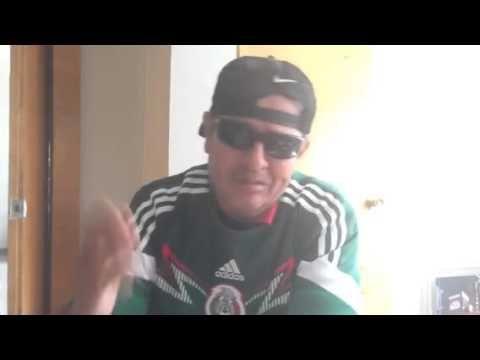 Sammy Pérez Alienta a la seleccion Mexicana - Brasil 2014