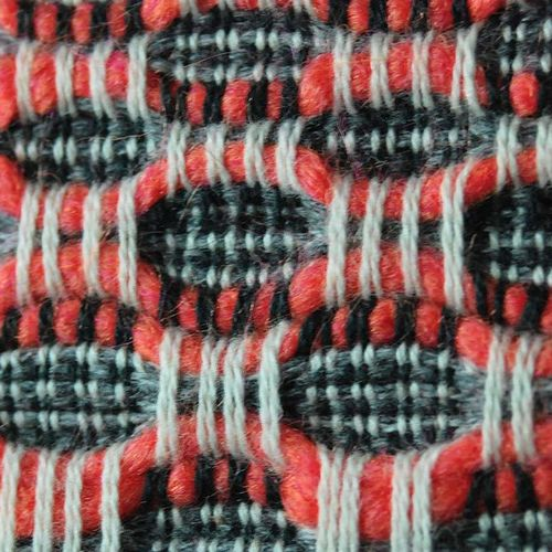 This weave pattern is beautiful. Someday I hope to learn how to weave something…