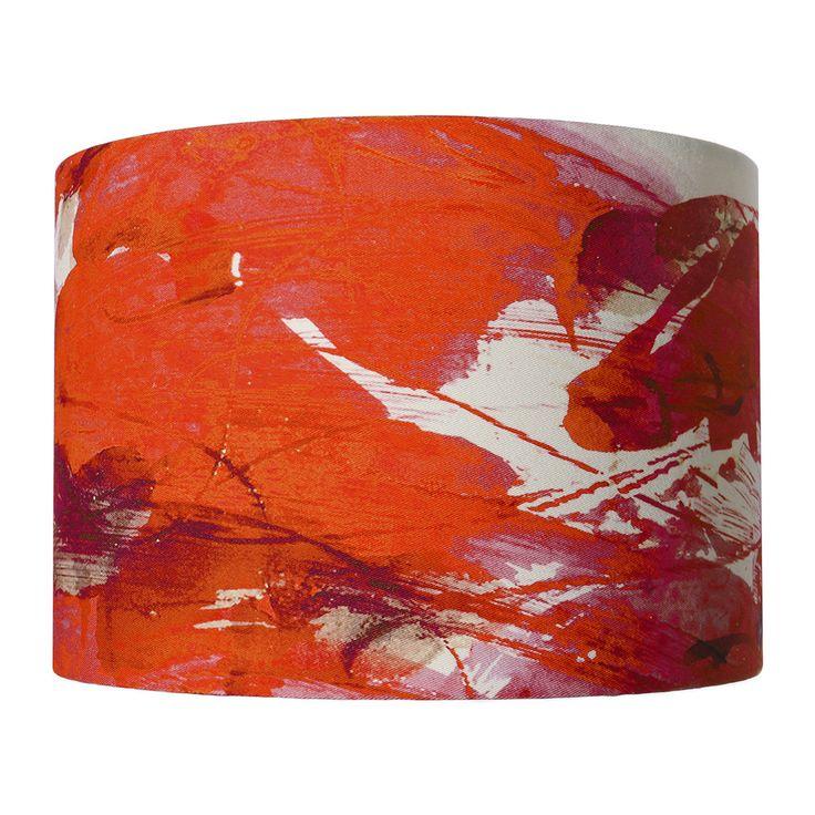 Buy Anna Jacobs Sedum Detail in Orange Lamp Shade   Amara