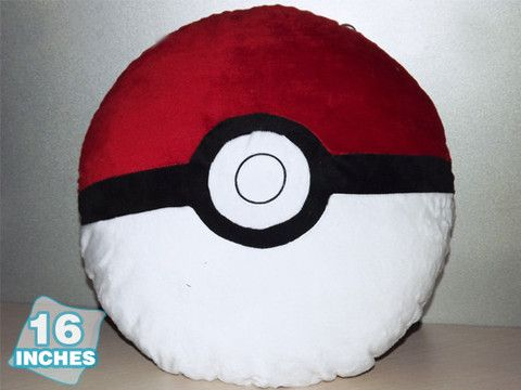 Pokemon Poke Ball Pillow PNPW9041 Must Haves XD Pinterest Stuffed animals, Crafts and I want