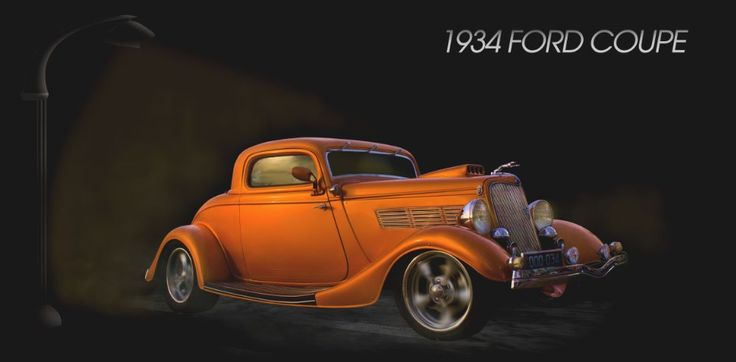 1934 Ford Coupe by Sage Digital