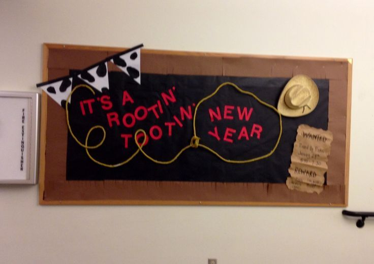 beginning of the year bulletin board western theme - Google Search