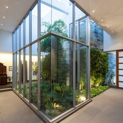 173 best images about glass houses and atriums on for Atrium garden window