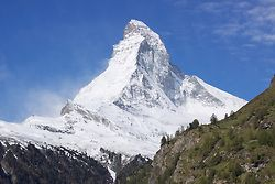 The majestic Matterhorn over Zermatt, Switzerland