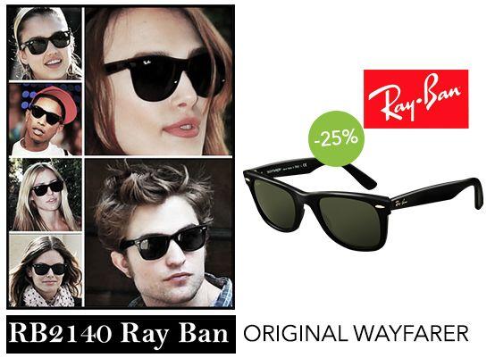 Ray-Ban RB2140: l'accessorio giusto per chi vuole creare il proprio stile in modo originale da VIP! Da Viegi al -25% di sconto. http://www.viegi.com/rb2140-original-wayfarer-54.html #sunglasses #discount #promo #vip
