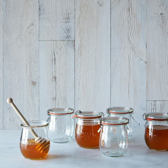 Weck Tulip Jar (Set of 6) - Provisions by Food52.com - Weck has been in the canning business for over a century, and we can safely say that these jars are the best around. We like to fill these tulip-shaped beauties with honey and pull them out at breakfast time -- an easy way to brighten up weekday mornings.