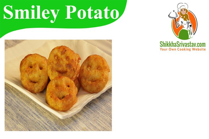 Smiley Potato Recipe in Hindi for Kids.Watch How to make Potato Smiley at Home in Hindi Language with step by step preparation.