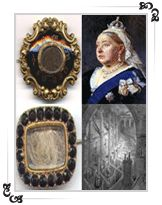 Image result for Queen Victoria mourning style jewellery