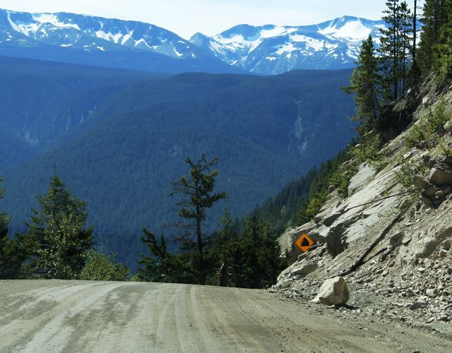 Highway 20 to Bella Coola - with grades up to 18%