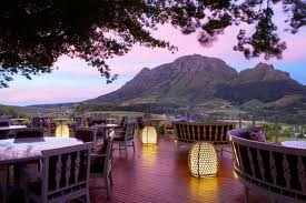 A South African winery
