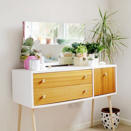 Give your old and second hand furniture a makeover in just a couple of hours. No paint needed!!