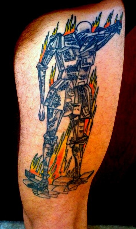 83 best dav02 character research images on pinterest for Fahrenheit 451 tattoo