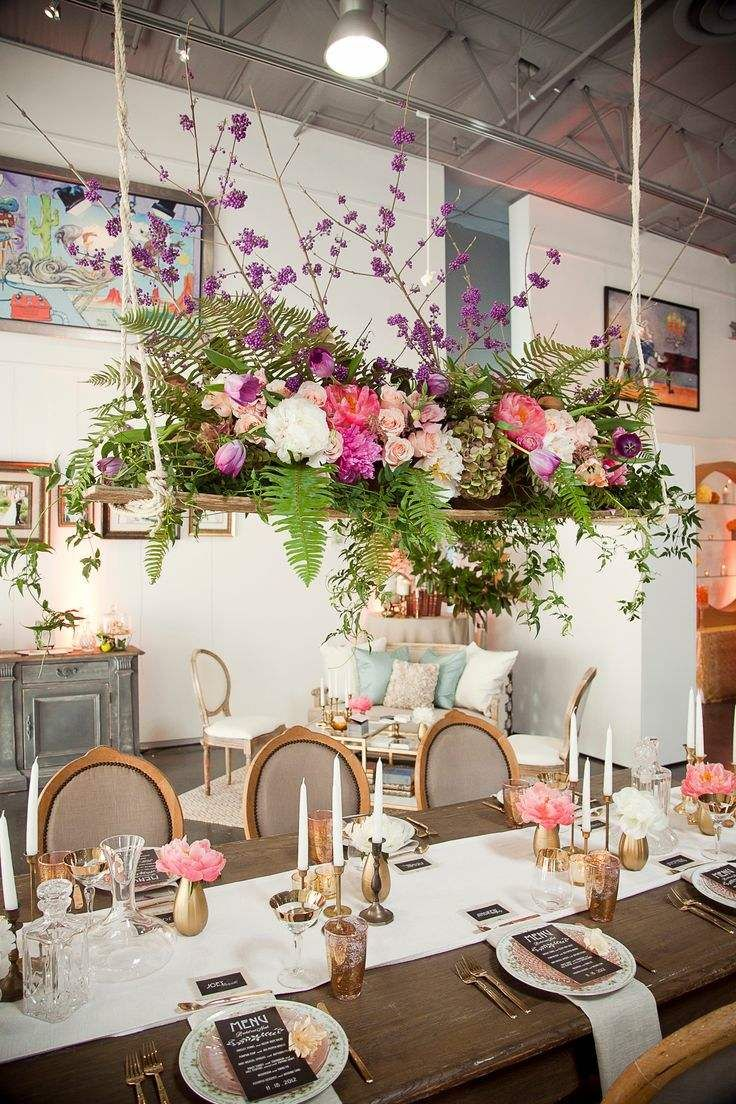 Bold and Beautiful Floral Wedding Ideas by The Vine's Leaf - wedding decorations idea; Bliss by Blue Sky's Photography