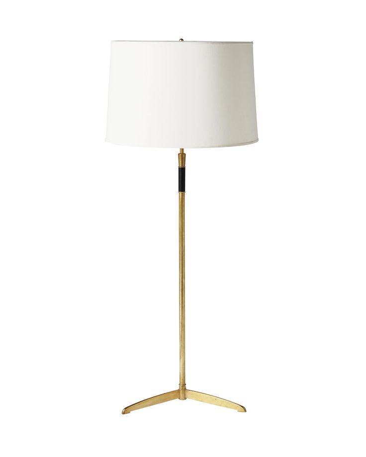 Cole brass floor lamp