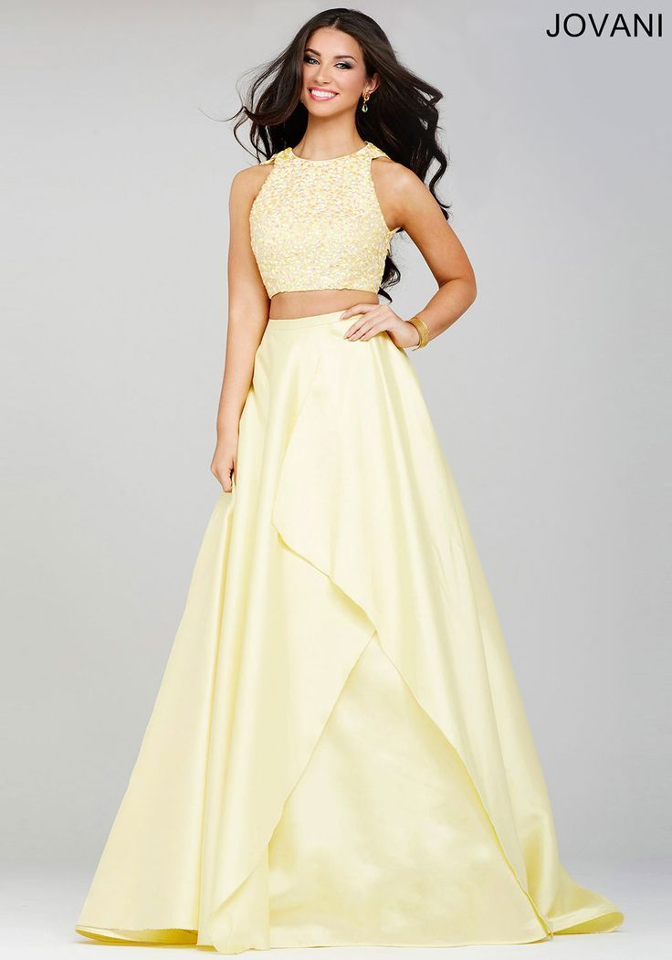 Be the belle of the ball in this twopiece beauty! Blush