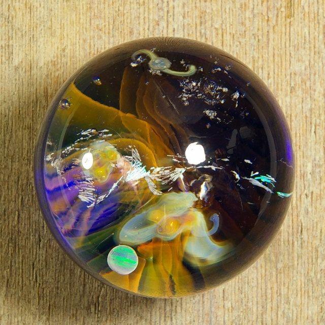 Galaxy Nebula - Art Glass Marble - Hand Blown Art Glass