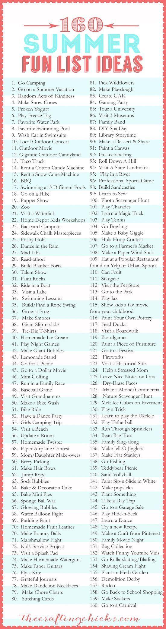 // fun ideas for summer diy