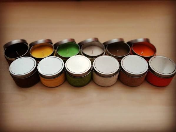 Making your atmosphere colorful #candles #colors