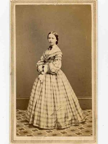Civil War CDV Signed Alice Simpson Later Married Theodore A McGraw Army Surgeon | eBay