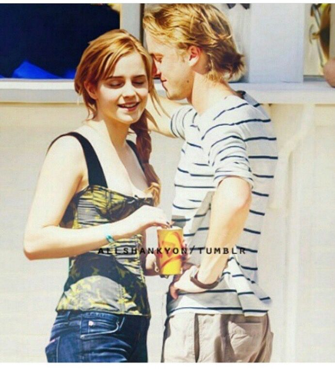 are hermione and draco dating in real life