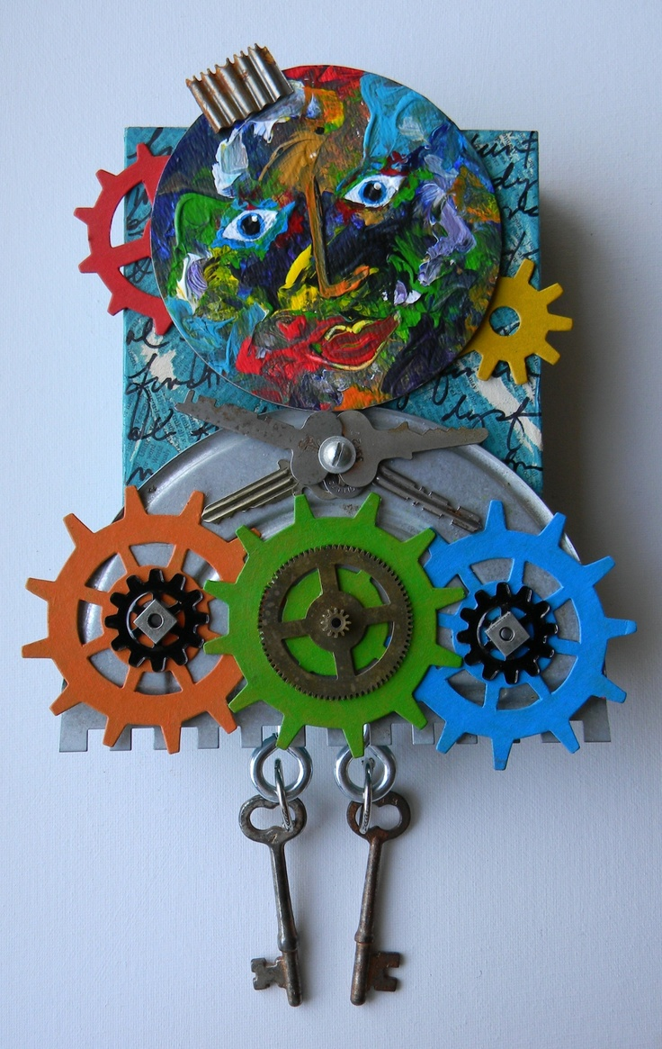 Earth Day Sculpture Recycled Art