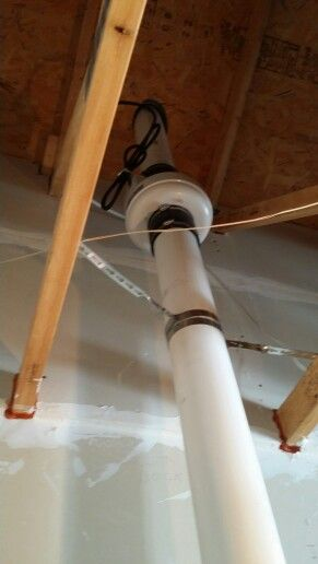 New Radon Mitigation Finished Basement