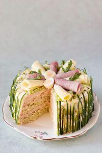 salade-taart
