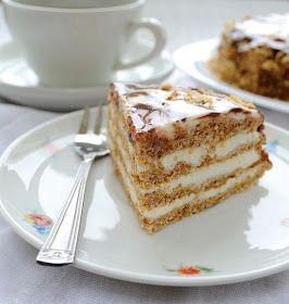 """Самые вкусные рецепты: Мини-торт """"Эстерхази"""""""