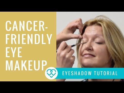 chemo friendly eye makeup in 3 simple steps  youtube