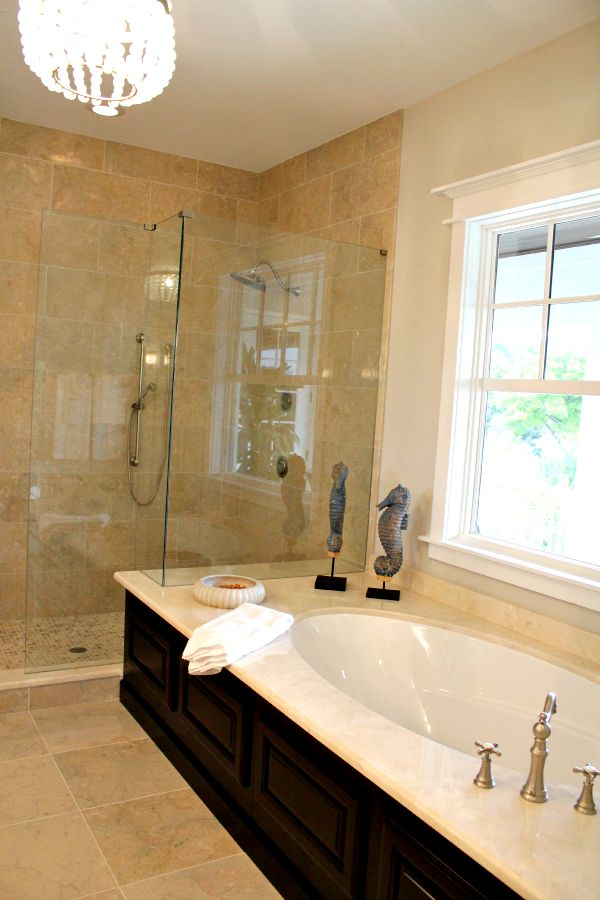 Southern Living Home Tour Master Bath   Fresh Idea Studio.com #Summer  #decoratingideas