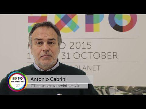 Ambassador Expo Milano 2015 Antonio Cabrini #Expo2015 #Milan