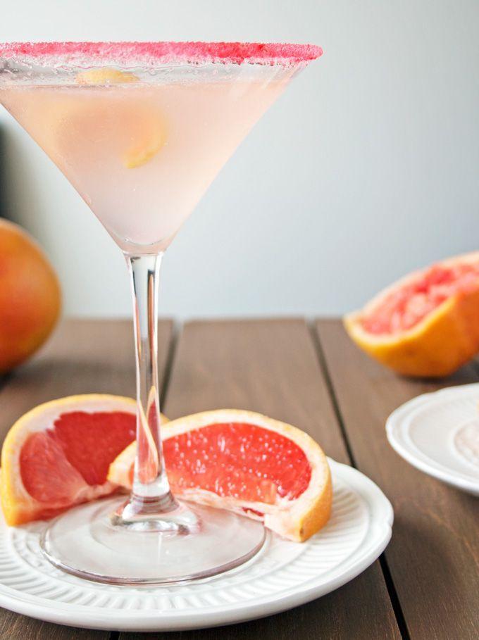 Ruby Red Martini Martini
