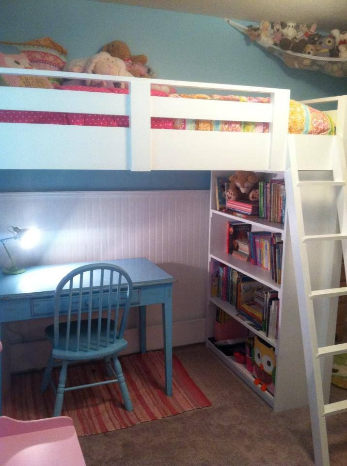 White Bunk Beds For Girls Sweet Girl S Loft Bed Do It