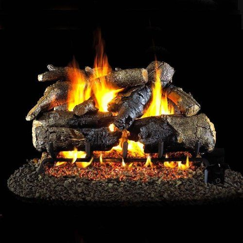 Peterson Real Fyre 24-inch Charred American Oak Log Set With Vented Natural Gas G45 Burner  Match Light For Sale https://outdoorfirepitusa.review/peterson-real-fyre-24-inch-charred-american-oak-log-set-with-vented-natural-gas-g45-burner-match-light-for-sale/