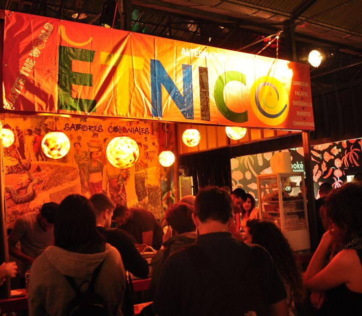 Etnico in Athens street food festival . Taste the World