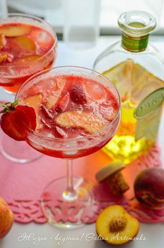 Клубничные радости: напитки - Жизнь - вкусная!