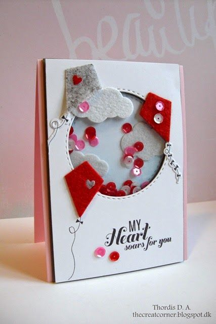 Love this card by Thordis using some Simon Says Stamp Exclusives.