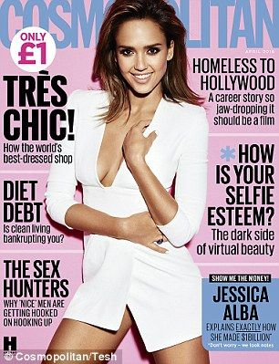 Read the full interview with Jessica Alba in the April issue of Cosmopolitan – on sale now...