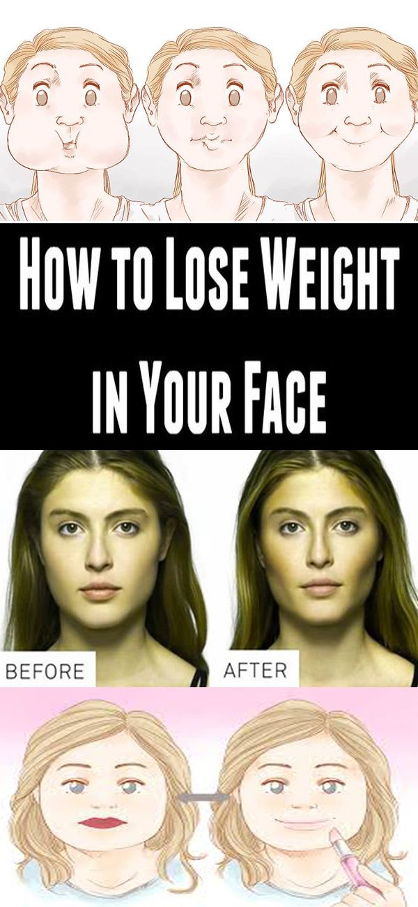 How to Lose Weight in Your Face!