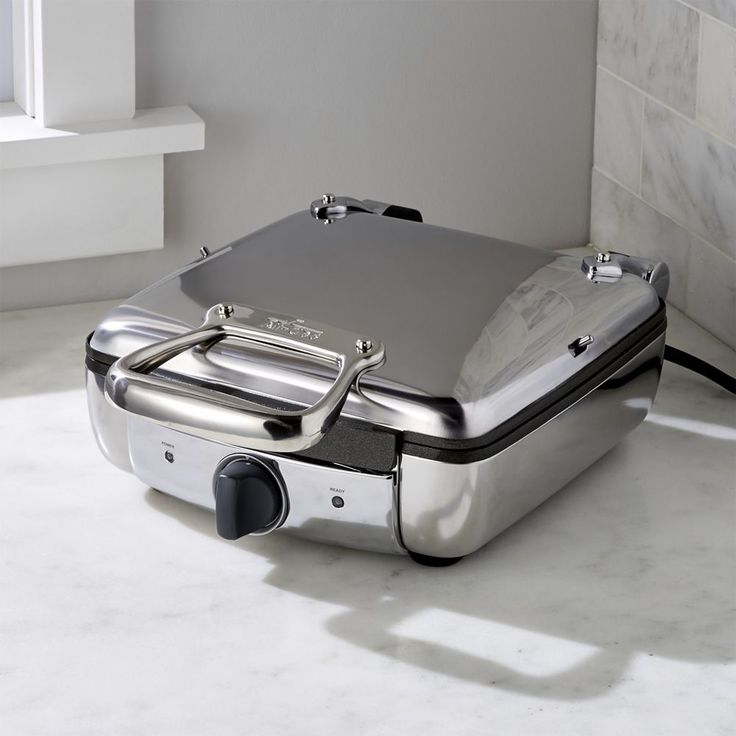 All-Clad ® 4-Slice Belgian Waffle Maker - Crate and Barrel