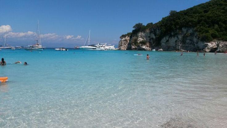 Antipaxoi,ionian island,Greece