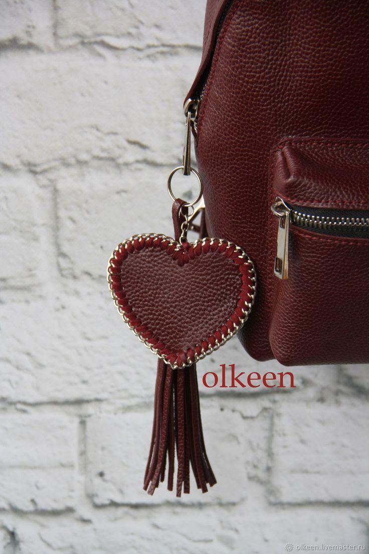 Купить Кожаный женский рюкзак Ideal марсала - рюкзак, кожаный рюкзак, рюкзачок, рюкзак женский