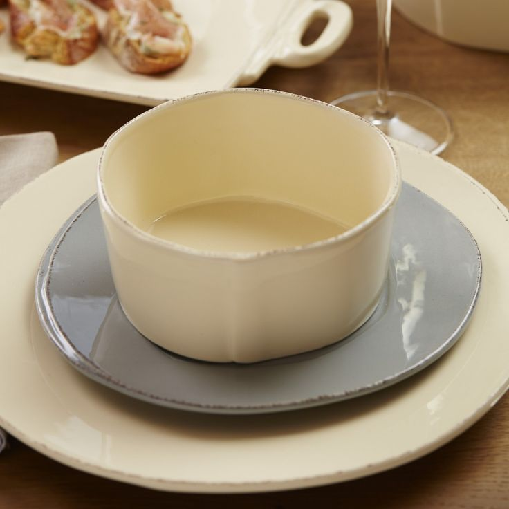 #LGLimitlessDesign and #Contest A girl can dream, right?! Lastra Cream Dinner Plate | Dinnerware | Tabletop | VIETRI