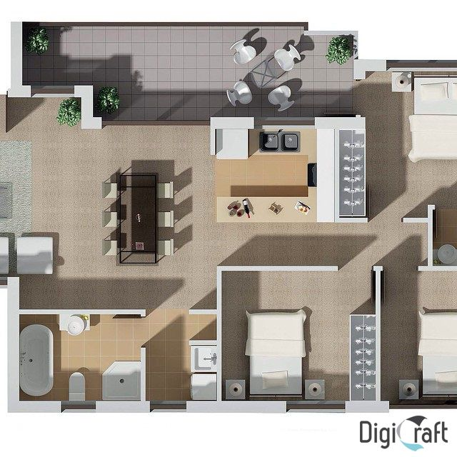 Can't visualise how your house or shop will look like from a simple floor plan. At Digicraft we can bring you vision to life with our 3D floor plan. http://digicraft3d.com.au/ #Digicraft3D #3darchitecturalrendering #3darchitectural #3dexterior #3dinterior #3dfloorplan #3dgraphicsdesigners
