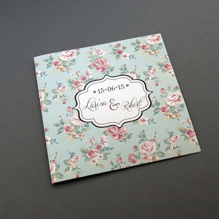 Invitaţie de nuntă Shabby http://designbyclarice.ro/