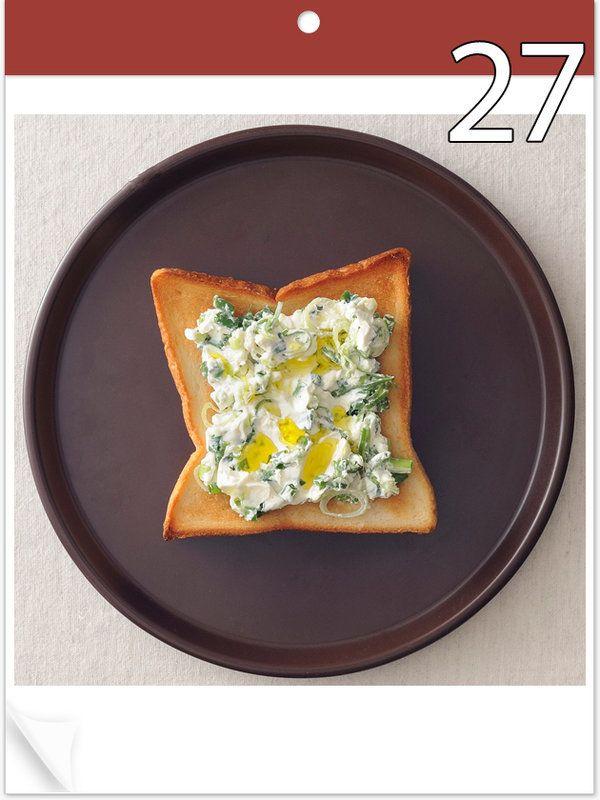 朝ごはんにもおやつにも、おつまみにも食べたいトースト。6~7月の2か月間は、毎朝日替わりでトーストのアイディアをご提案。「いつものパン」を「おしゃパン」にグレードアップして!