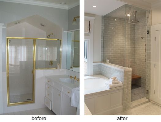 bathroom remodel before and after photos google search
