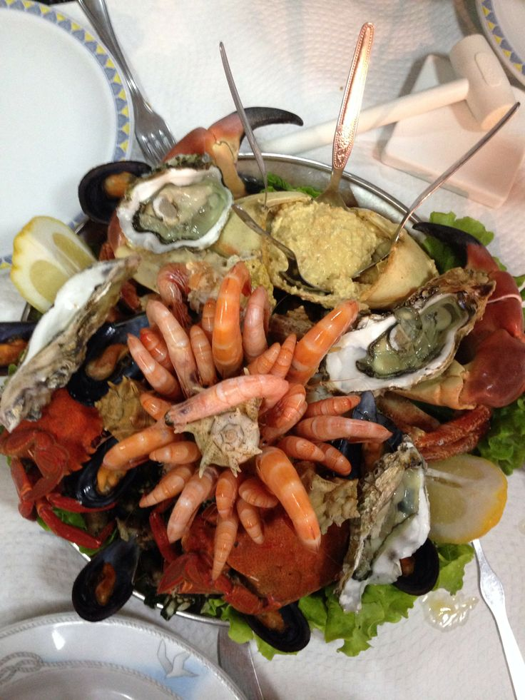 Delicious Seafood dinner <3