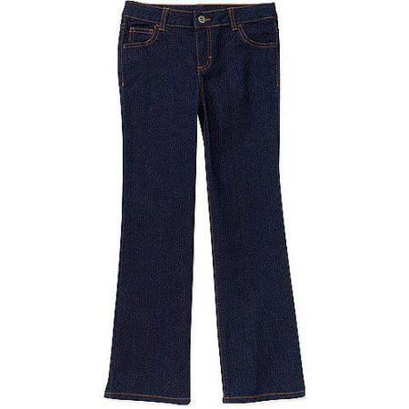 Faded Glory Girls' Bootcut Denim Jeans