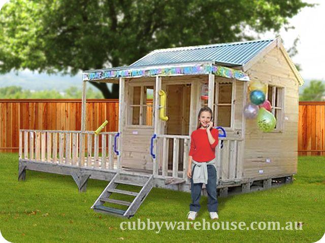 Kettle Creek Cubby House  www.cubbywarehouse.com.au